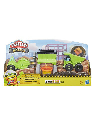 Play-Doh Play-Doh Süper İnşaat Seti  Renkli